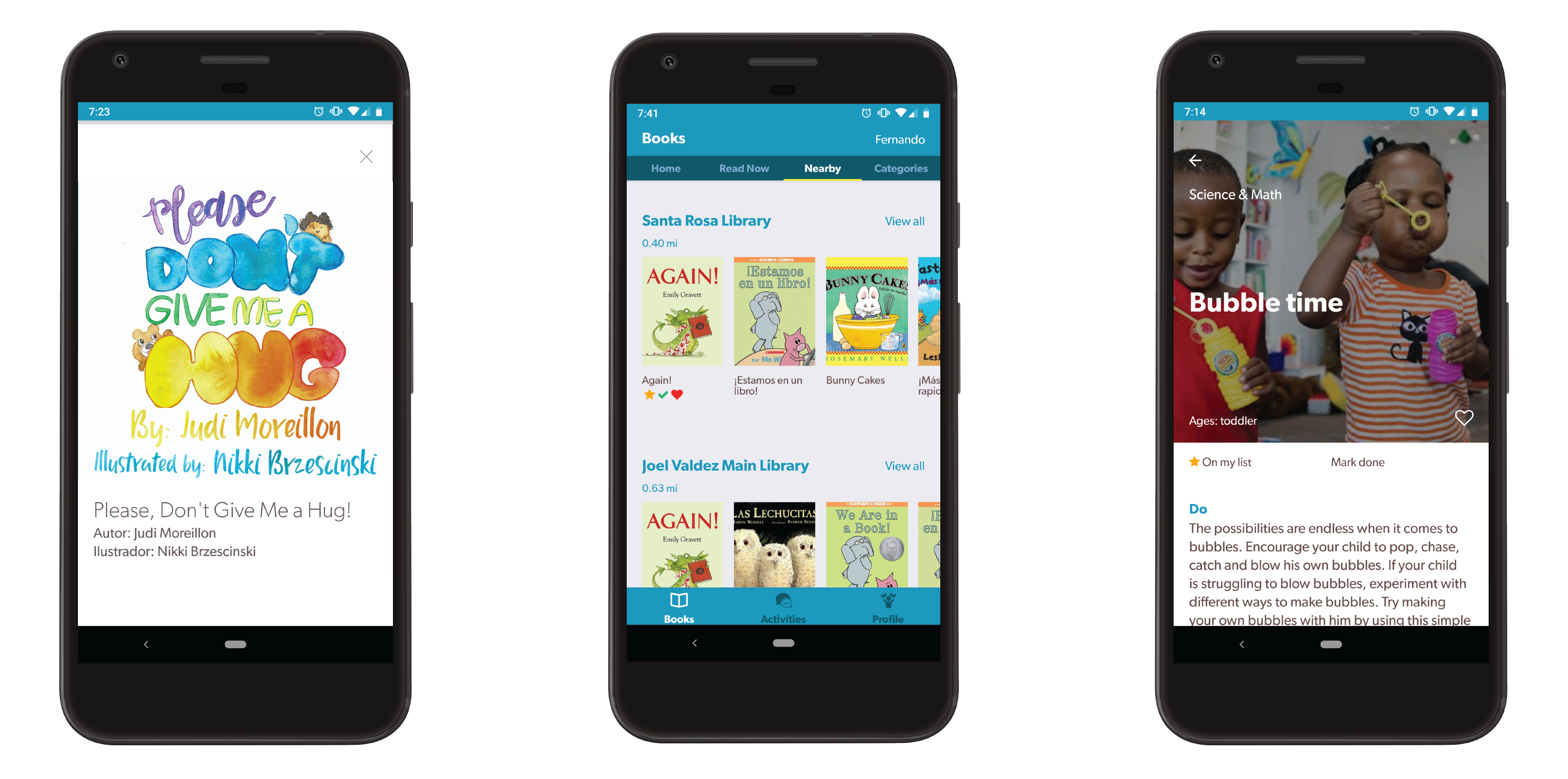 Make Way for Books App