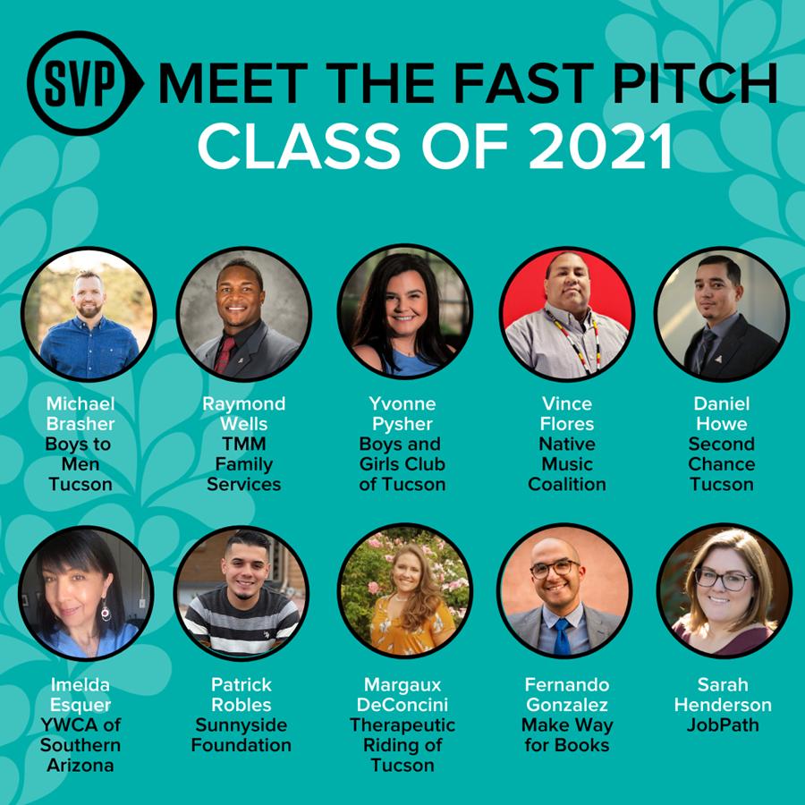 Fast Pitch 2021 participants